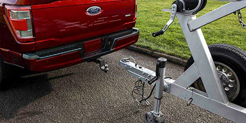 Ford F-150 XL Class IV Trailer Hitch Package