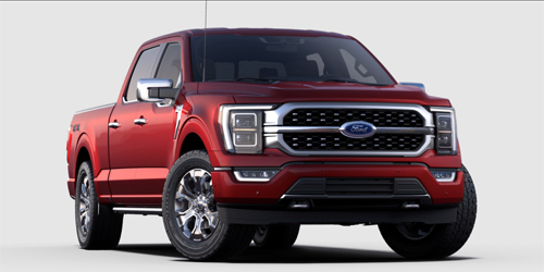 Ford F-150 Platinum Max Trailer Tow Package
