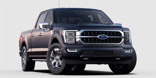 Ford F-150 Platinum Trailer Tow