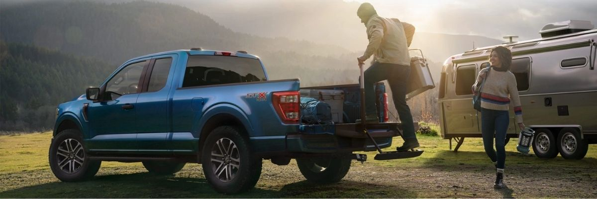 2021 Ford F-150 Camping