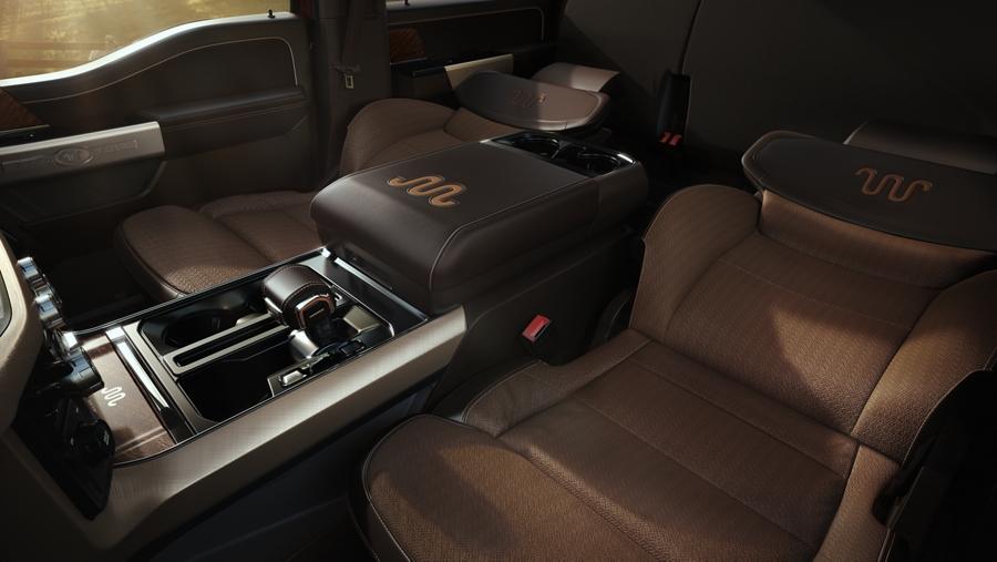 2021 Ford F-150 Seats
