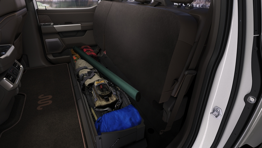 2021 Ford F-150 Storage