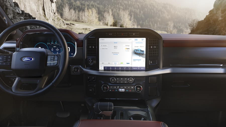 2021 Ford F-150 Technology