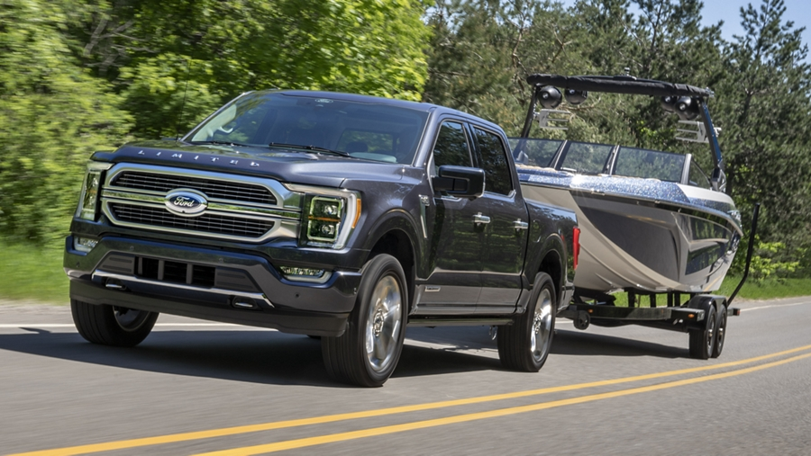 2021 Ford F-150 Towing