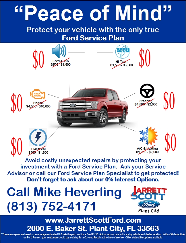 Ford Service Plan Warranty
