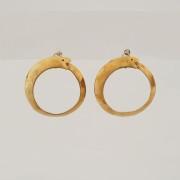 orecchini ottone