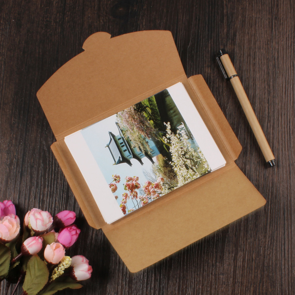 Handprinted Postcards Leartigiane