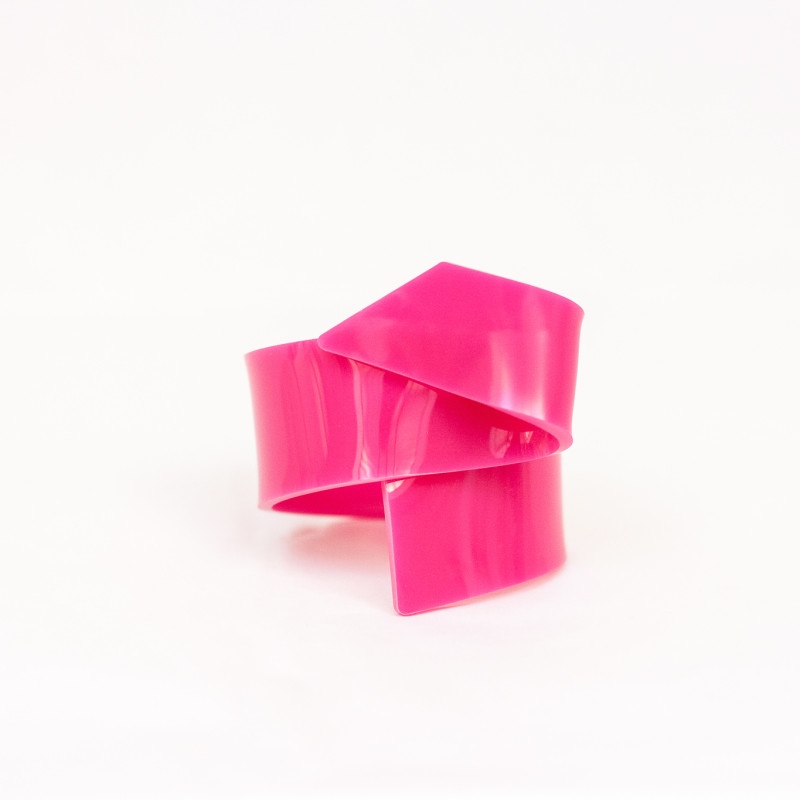 FOR BFS 002-BRACCIALE PLEXIGLASS-LEARTIGIANE-FUCSIA-02