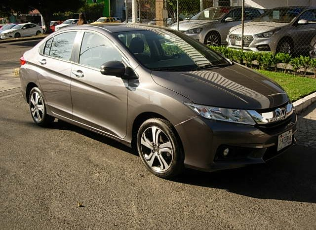 HONDA CITY 2017 EX AUTOMATICO, AIRE, ELECTRICO, AIRBAG, PANTALLA TOUCH lleno