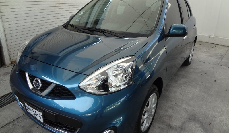 NISSAN MARCH 2018 ADVANCE, MANUAL, AIRE,ELECTRICO, IMPECABLE lleno