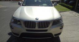 BMW X3 2013 XDRIVE 28IA, AUTOMATICA, AIRE, ELECTRICA, CDS, RINES, BOLSAS DE AIRE