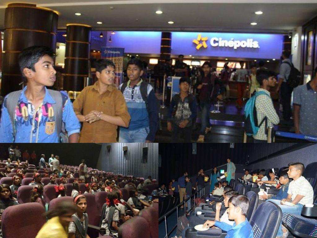 JOSHConnect Foundation School Kids Taken for Dangal Movie Show