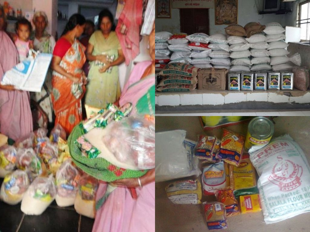 JOSHConnect Foundation Grains Donation to Slums