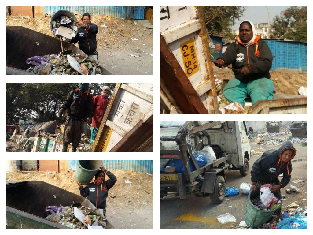 JOSHConnect Foundation Winter Jackets for Pune City Cleaners