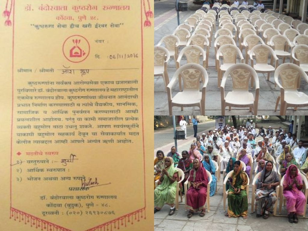 JOSHConnect Foundation Chairs Donation to Leprosy Patients
