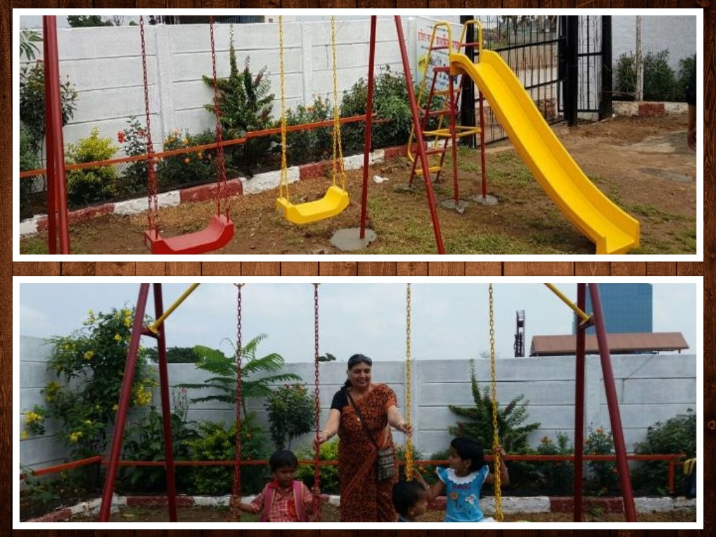 JOSHConnect Foundation Playground Construction for Small Kids
