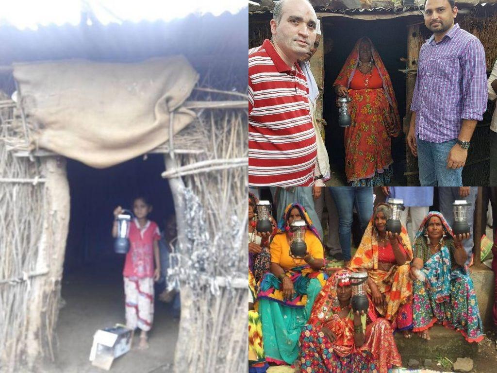 JOSHConnect Foundation Solar Lanterns Distribution to Latur Families