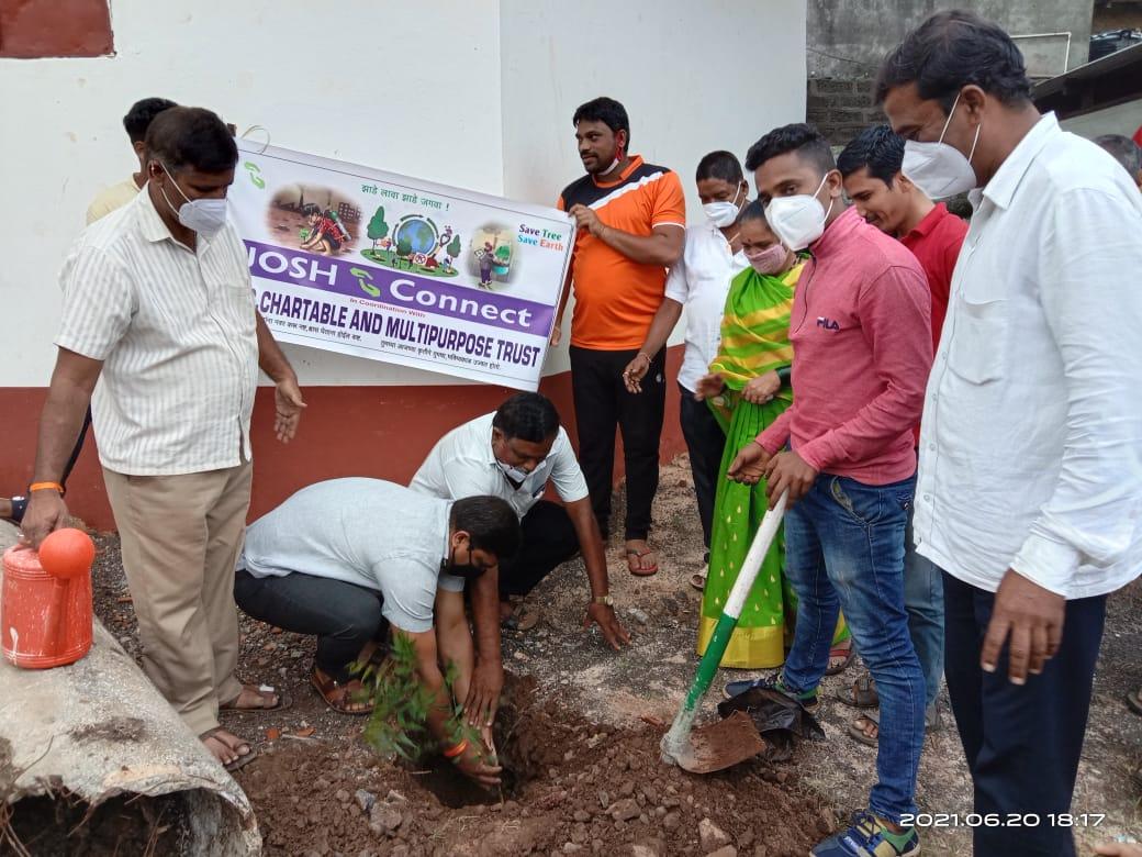 JOSHConnect Foundation Tree Plantation in Rural Maharashtra