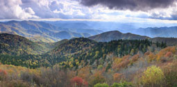 Cowee Overlook Blue Ridge Parkway