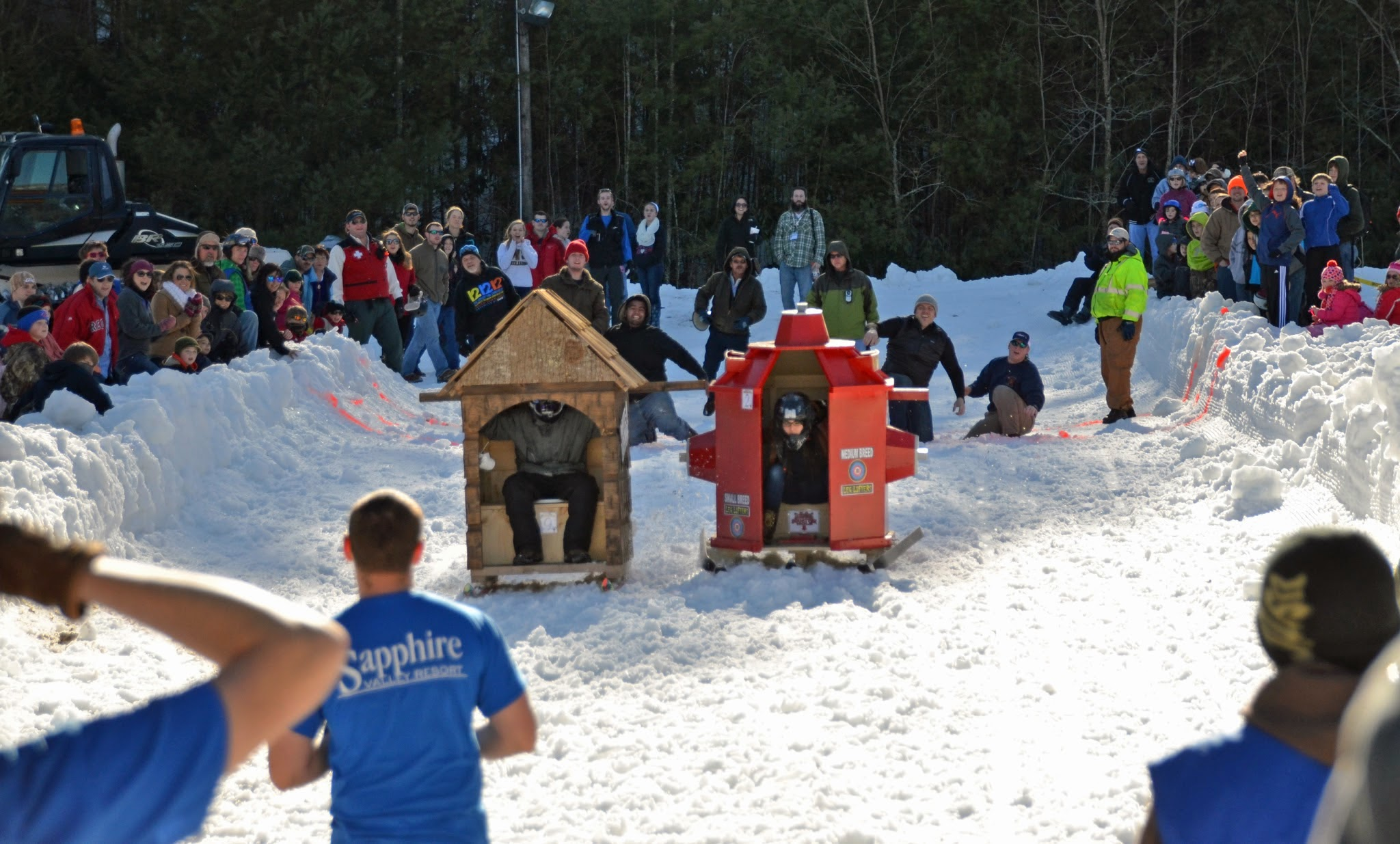 Sapphire Valley Outhouse Races