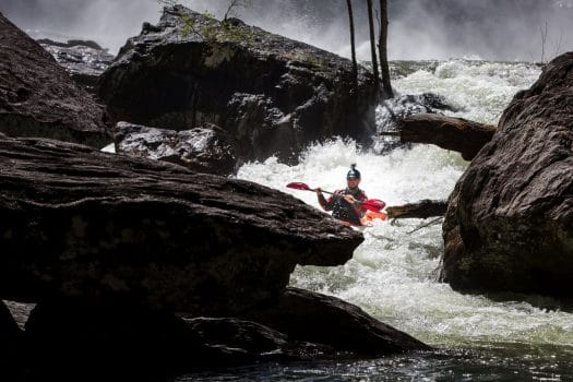 High Falls Whitewater Release