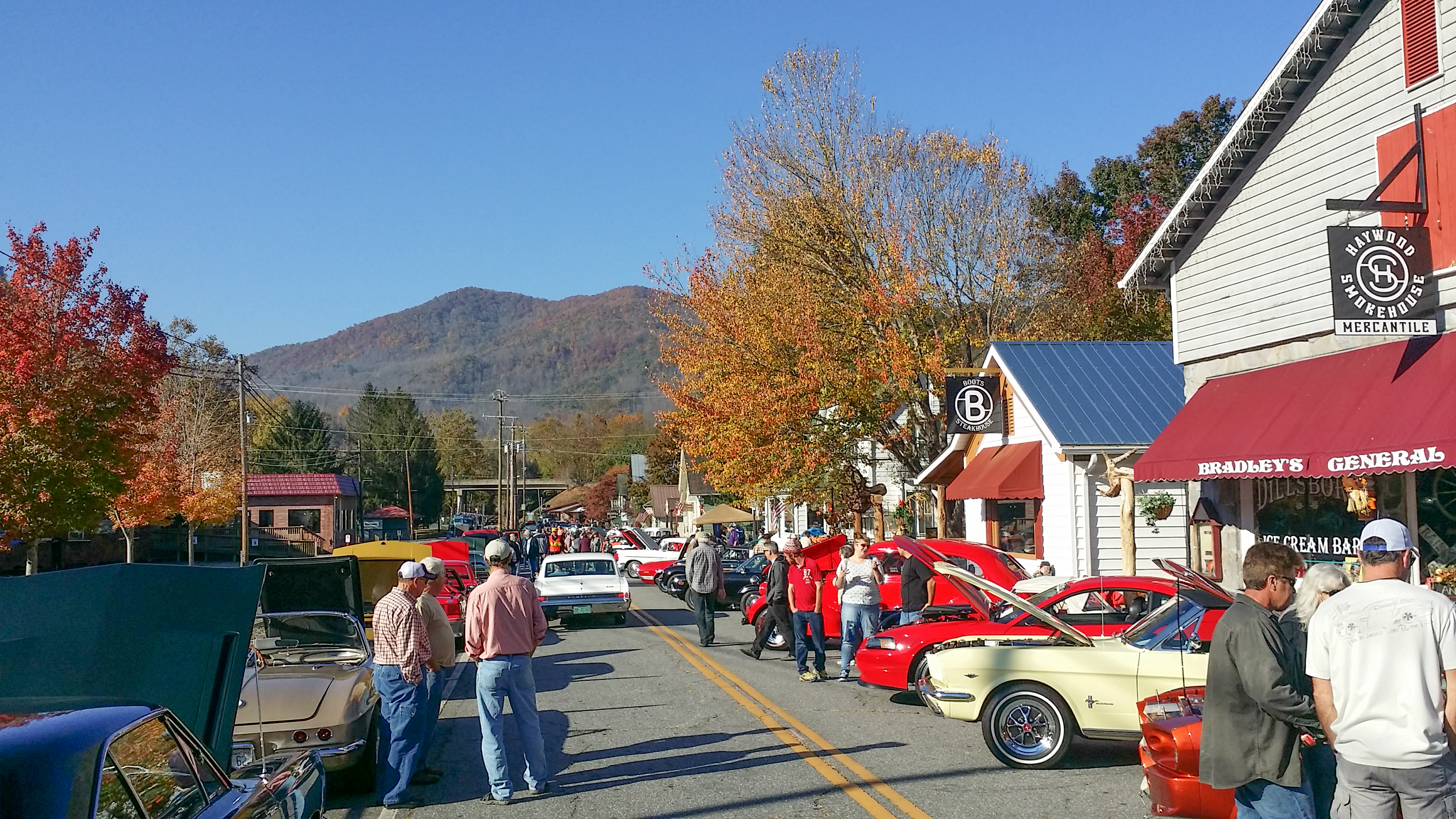 Visit Jackson County in October; see classic cars – and colored leaves