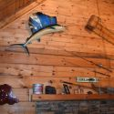 Interior Photo at Sportsman Cabin - Cabin in the Laurel