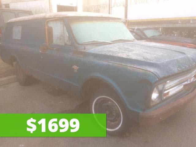 1967 Chevy C10 Panel Truck/Van