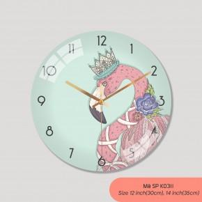 Đồng hồ phong cách Bắc Âu, đồng hồ treo tường đẹp