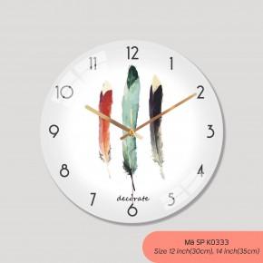 Đồng hồ treo tường phong cách Bắc Âu, đồng hồ treo tường tranh