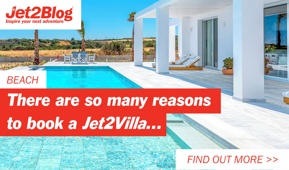 There are so many reasons to book a Jet2Villa...