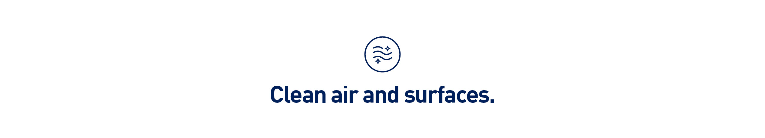 clean air and surfaces