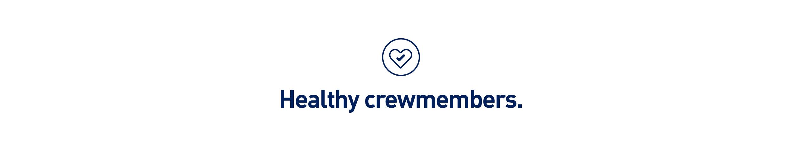 healthy crewmembers