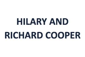 Hilary and Richard Cooper