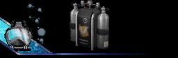 Oxygen tank Backpack