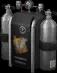 Oxygen tank Backpack (Black) (Cosmetic)