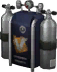 Oxygen tank Backpack (Blue) (Cosmetic)