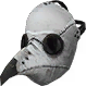 Plague Doctor Mask (White) (Cosmetic)