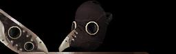 Plague Doctor Mask (Brown) (PREMIUM)