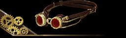 Steampunk Googles Brown