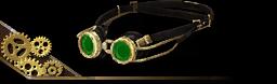 Steampunk Googles Black