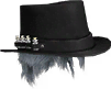 Plague Doctor Hat (Black) (Cosmetic)