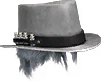Plague Doctor Hat (White) (Cosmetic)
