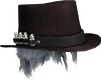 Plague Doctor Hat (Brown) (Cosmetic)