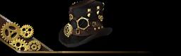 Steampunk Hat Black