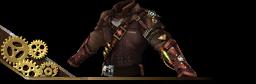 Steampunk Vest Brown
