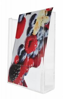 Wall Mounting, Brochure Holders, JJ DISPLAYS, 1/3 A4 99 x 210 mm