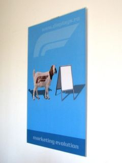 Acrylic Poster Support A4, JJ DISPLAYS, 210 x 297 mm, Portrait