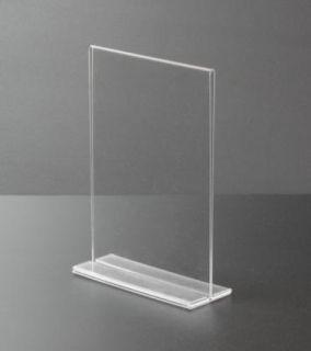 Menu Holder TC A5, JJ DISPLAYS, 148 x 210 mm, Landscape