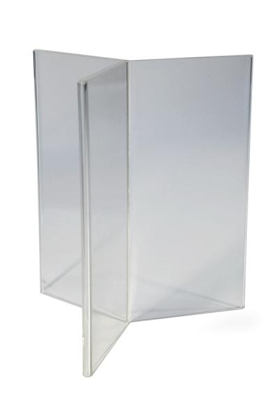 Table Tent Inserts, JJ DISPLAYS, dimensiuni la cerere
